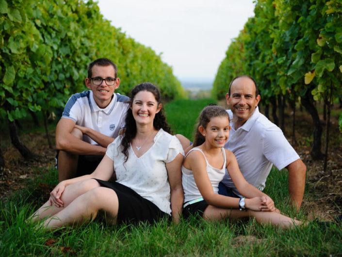 Séance photo Angie en famille près de Strasbourg