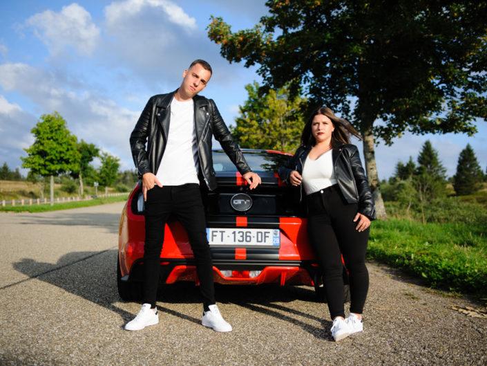 Shooting photo couple en Alsace