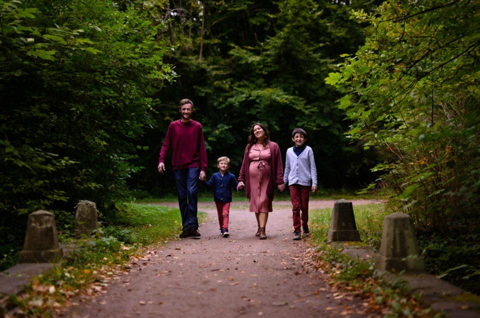 Séance photos grossesse en automne à Strasbourg