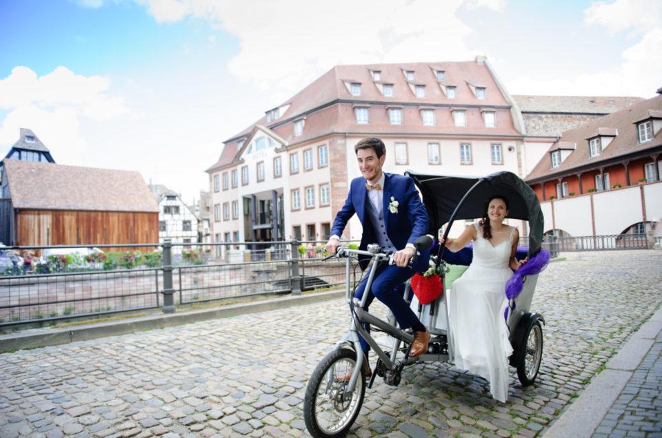 Mariage à Strasbourg Cathédrale et Petite France