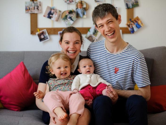 Séance photo bébé famille à Strasbourg